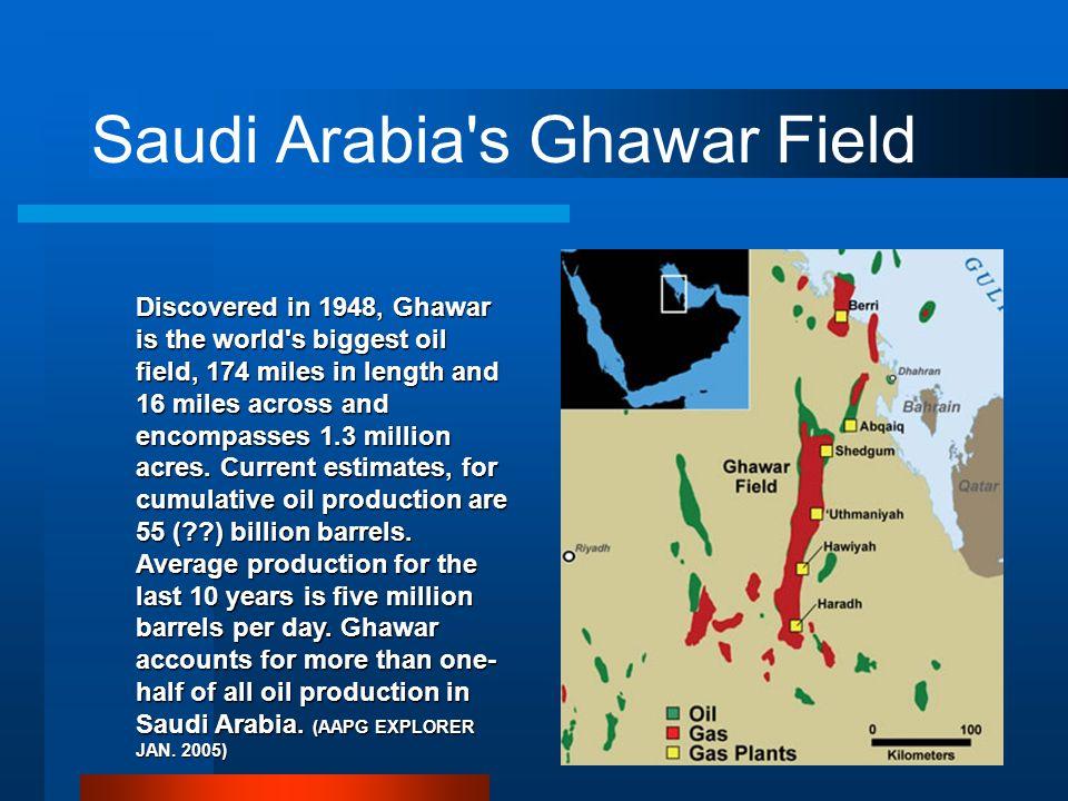 Saudi Arabia s Ghawar Field