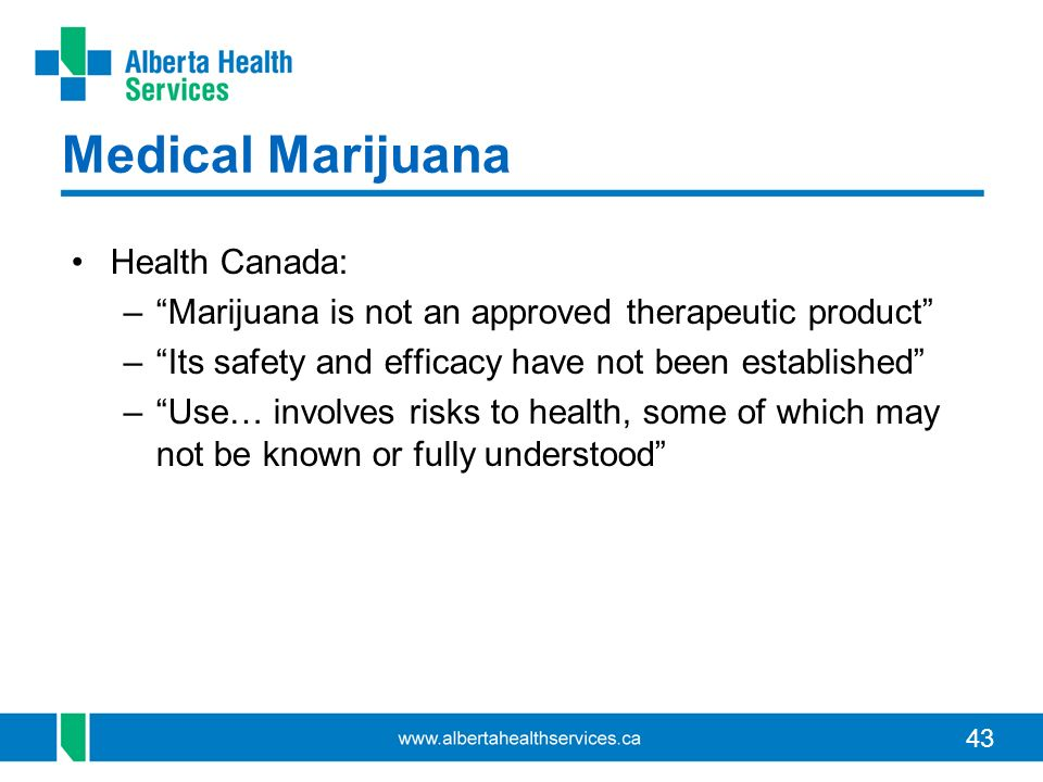 Medical Marijuana Health Canada: