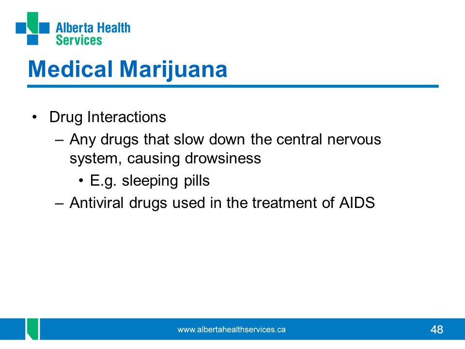 Medical Marijuana Drug Interactions