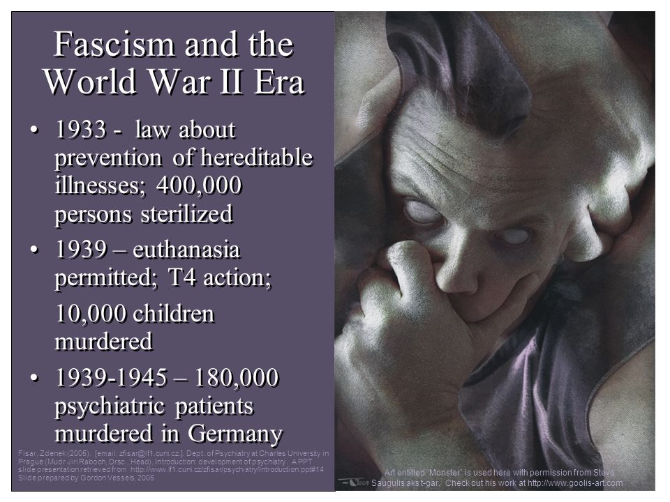 Fascism and the World War II Era