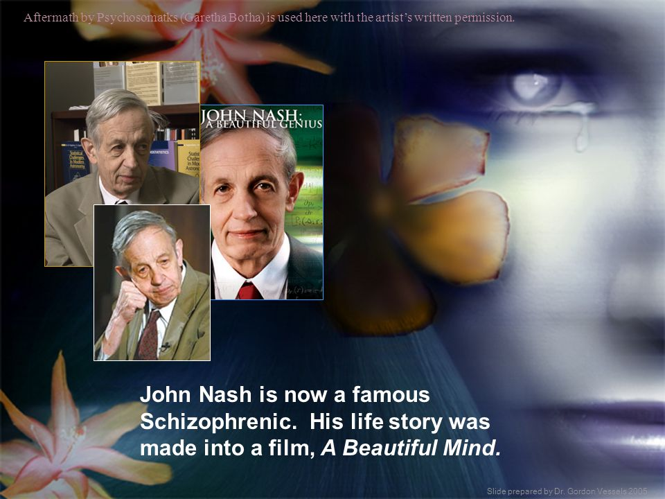 John Nash is now a famous