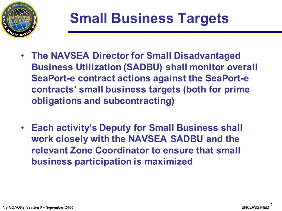 Small Business Targets