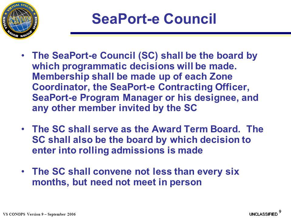 SeaPort-e Council