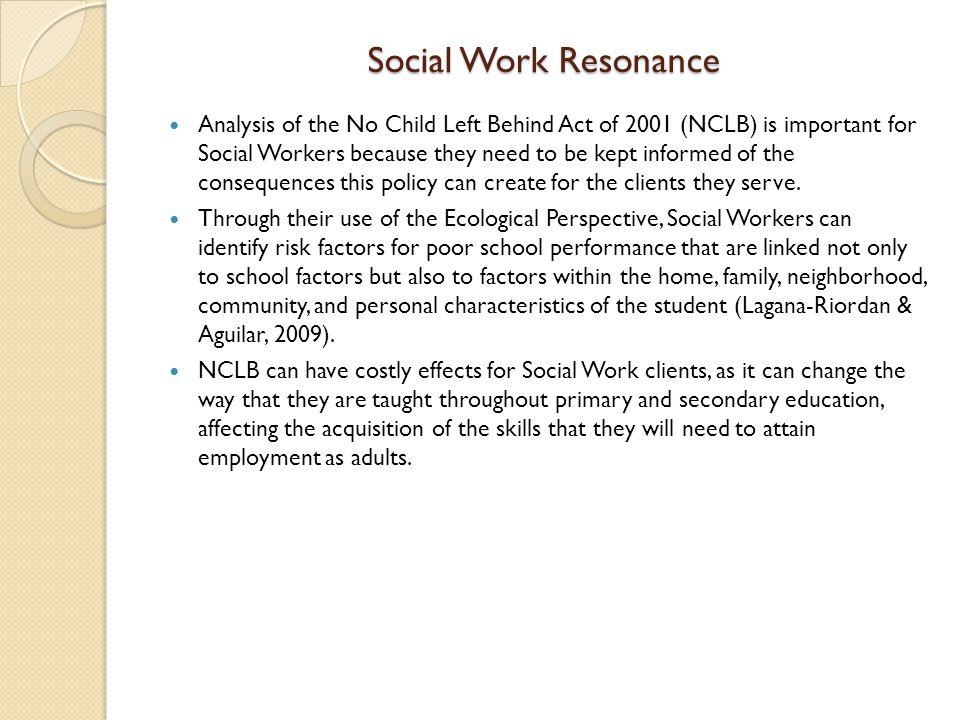 Social Work Resonance