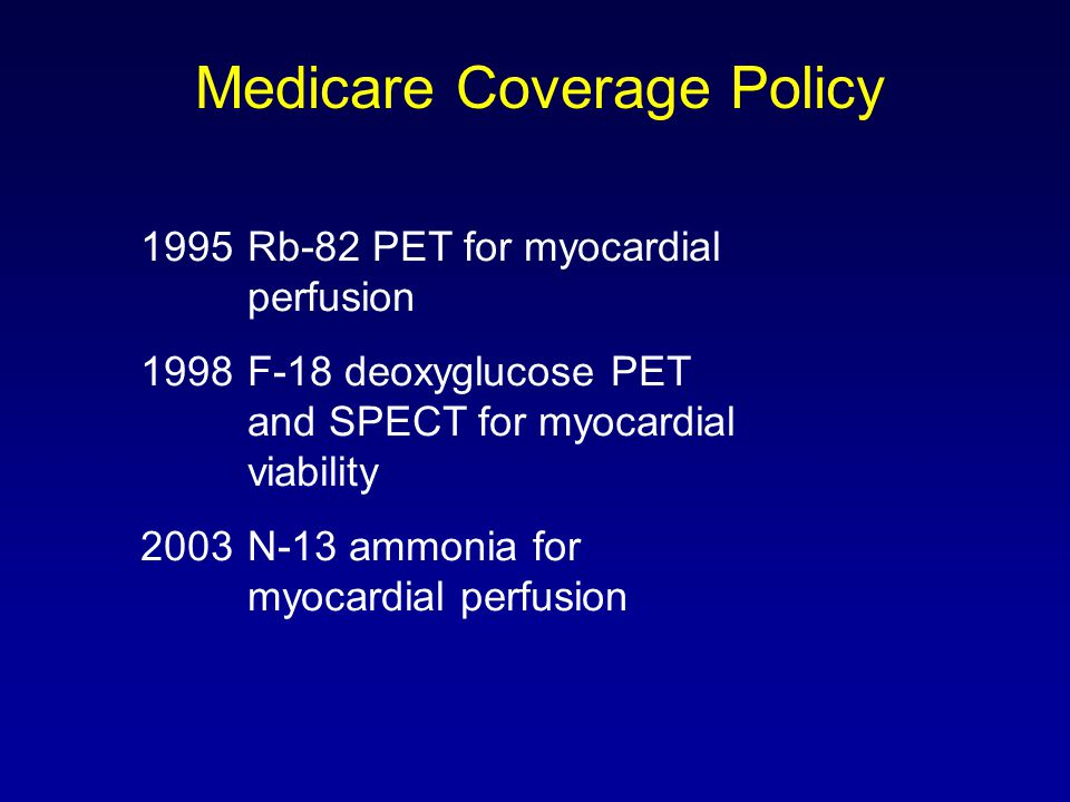 Medicare Coverage Policy