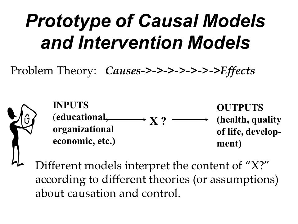 Prototype of Causal Models and Intervention Models
