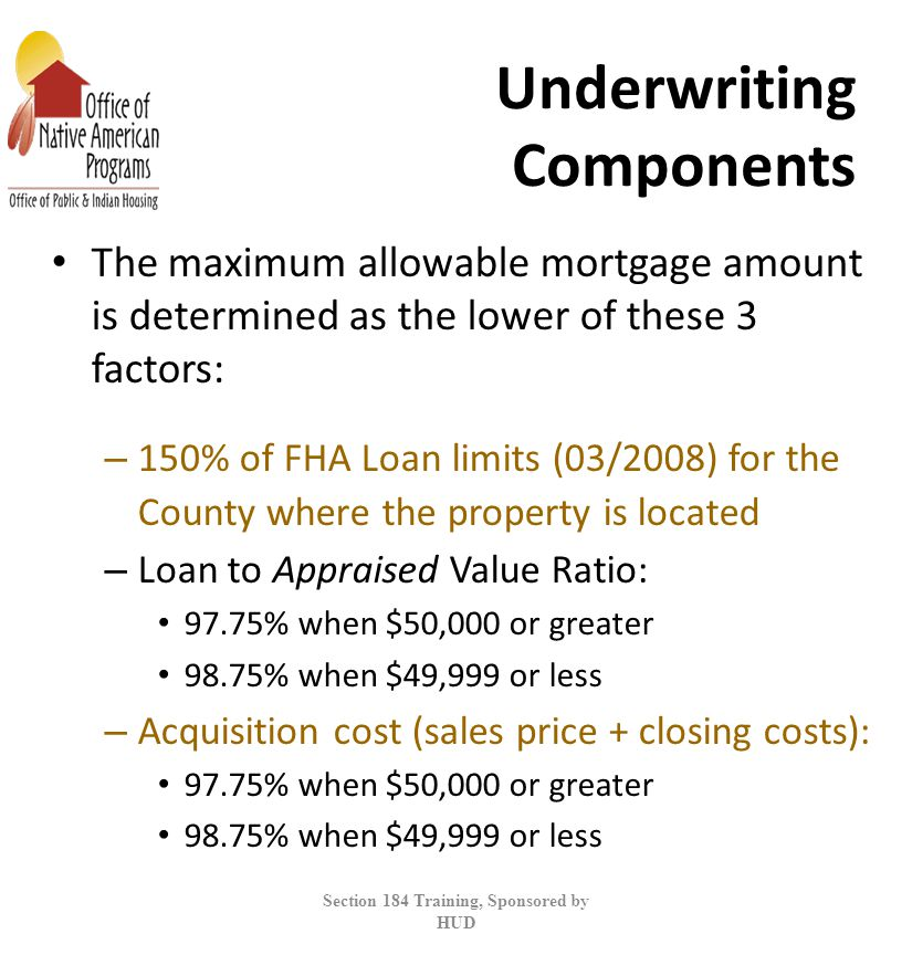 Underwriting Components