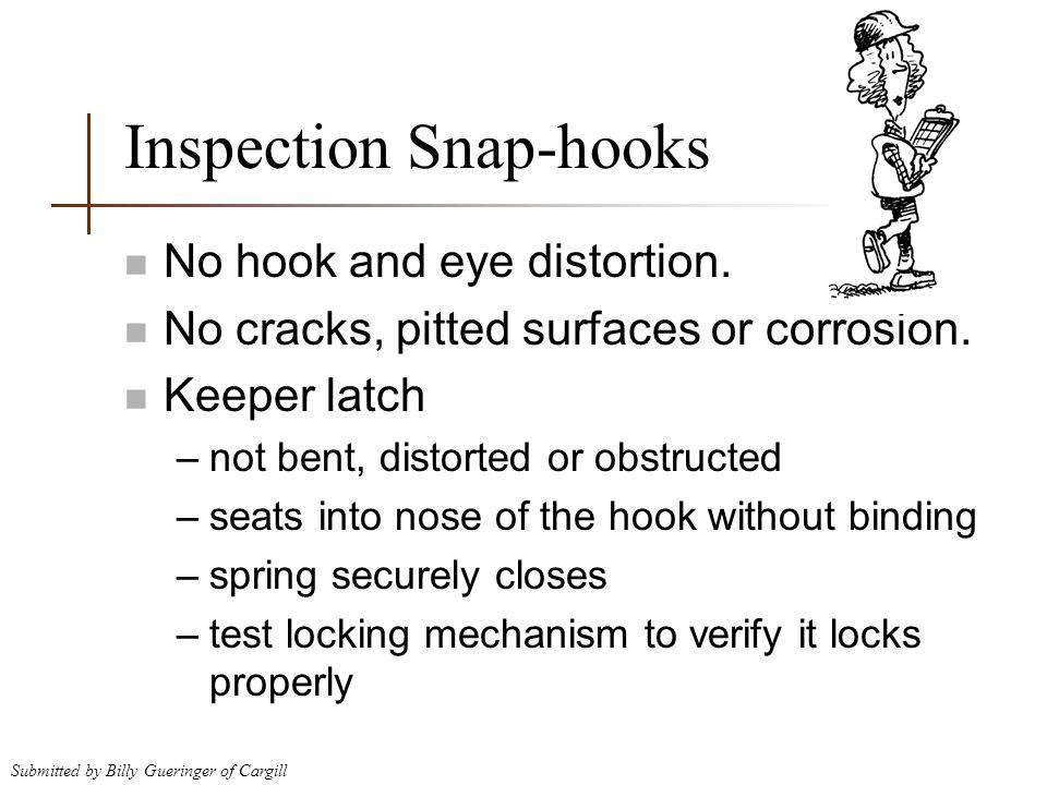Inspection Snap-hooks