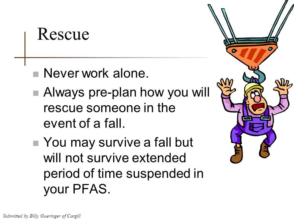 Rescue Never work alone.