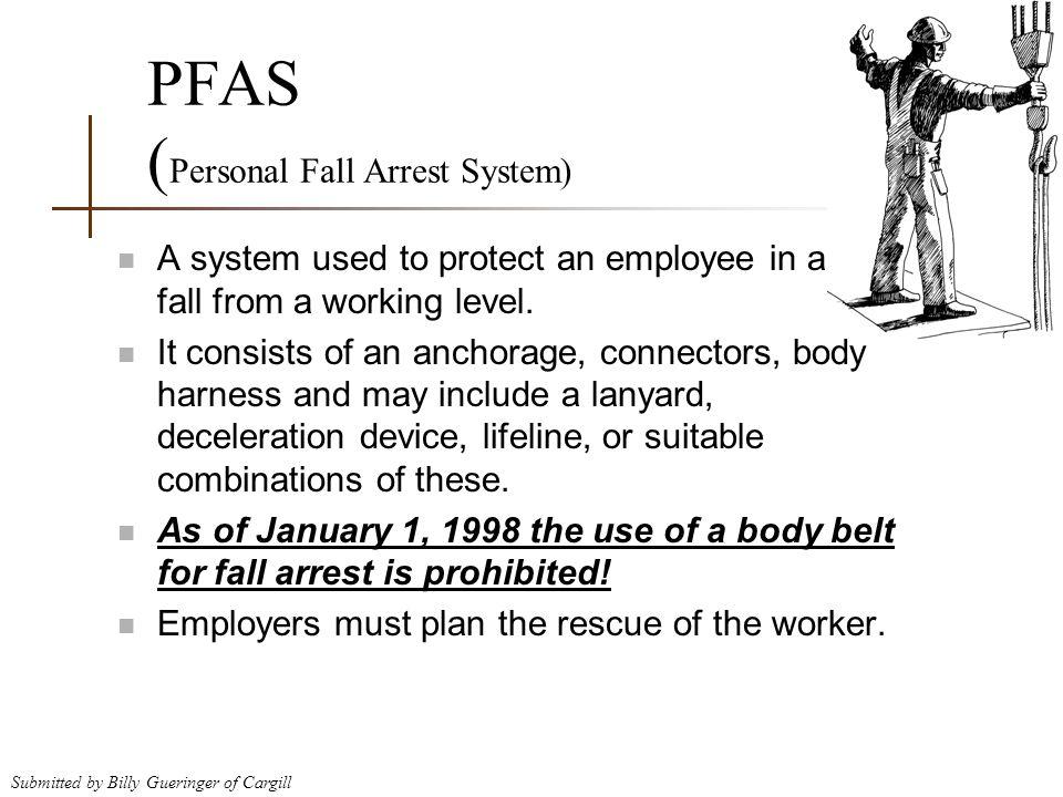 PFAS (Personal Fall Arrest System)