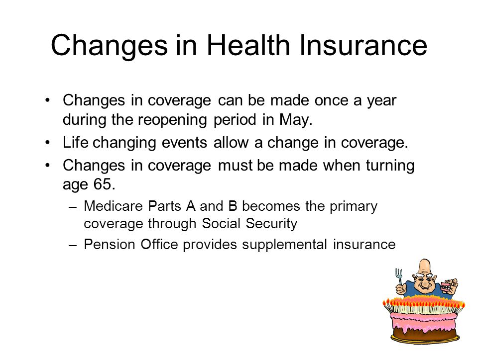 Changes in Health Insurance