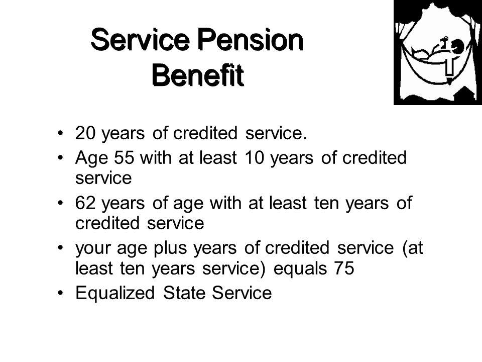 Service Pension Benefit
