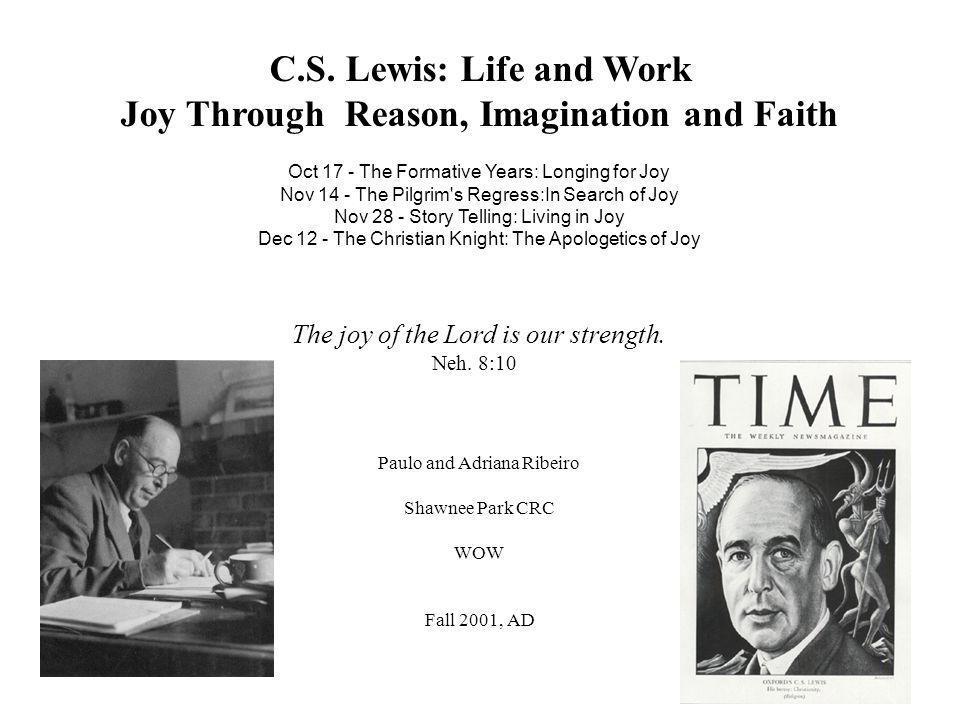 Joy Through Reason, Imagination and Faith
