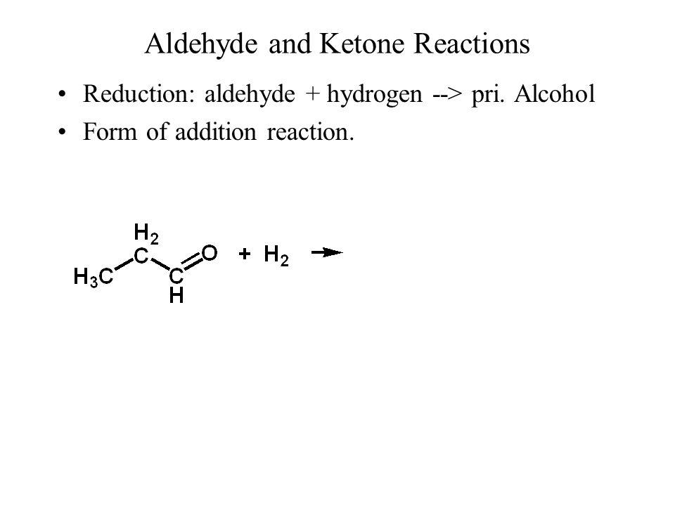 Aldehyde and Ketone Reactions