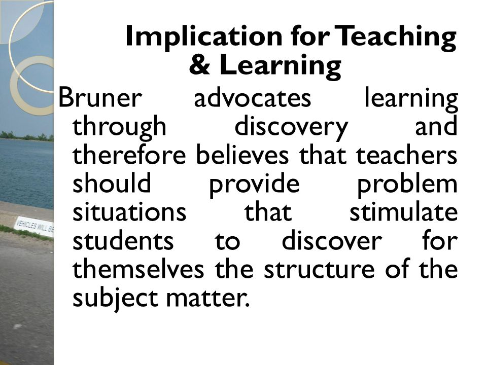 Implication for Teaching & Learning