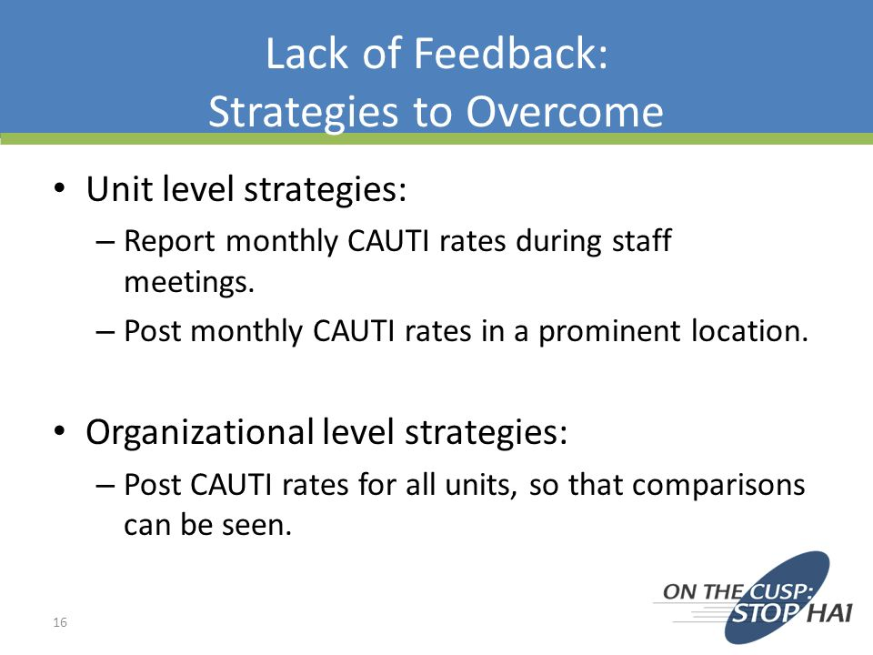 Lack of Feedback: Strategies to Overcome
