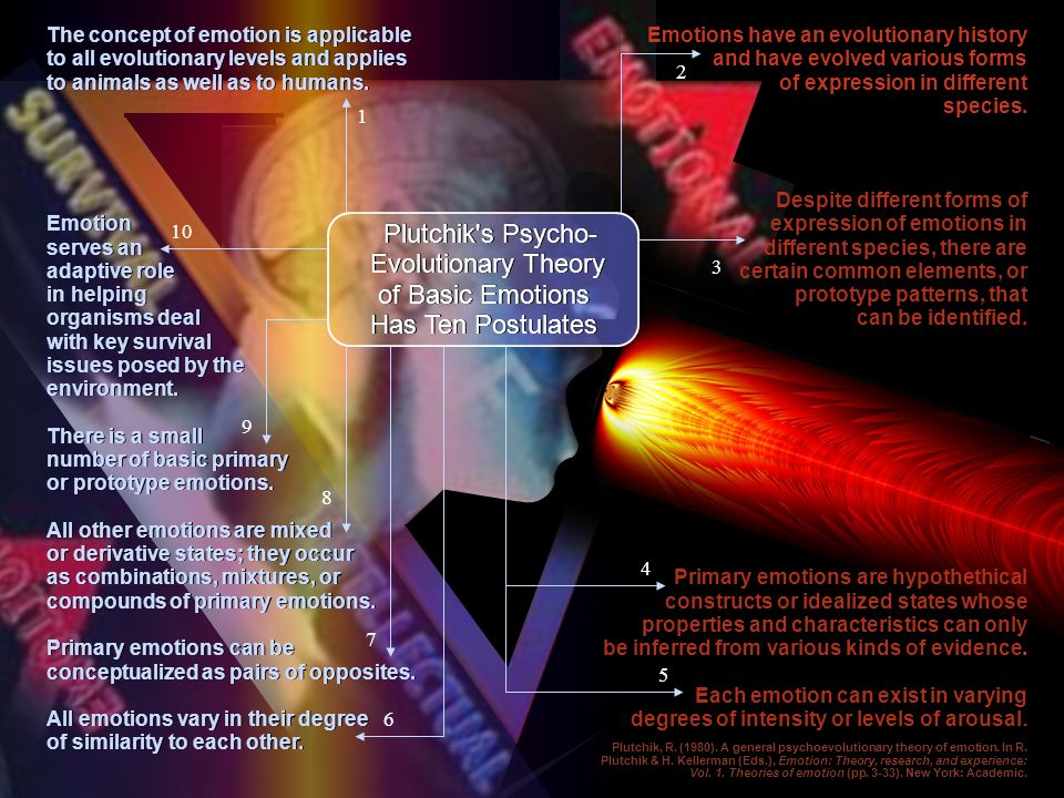 Plutchik s Psycho- Evolutionary Theory of Basic Emotions