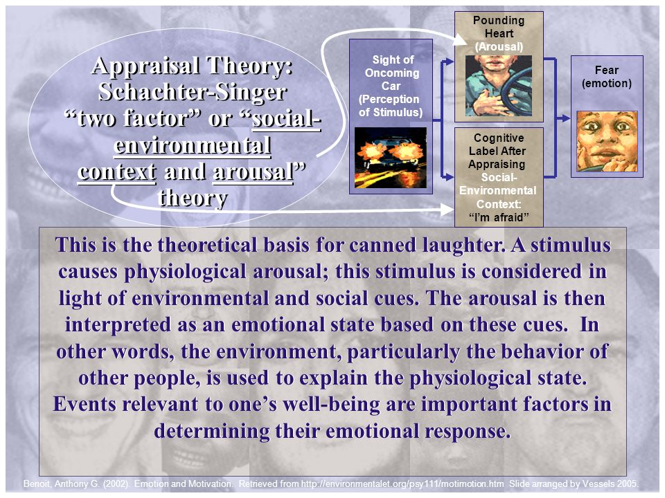 Appraisal Theory: Schachter-Singer