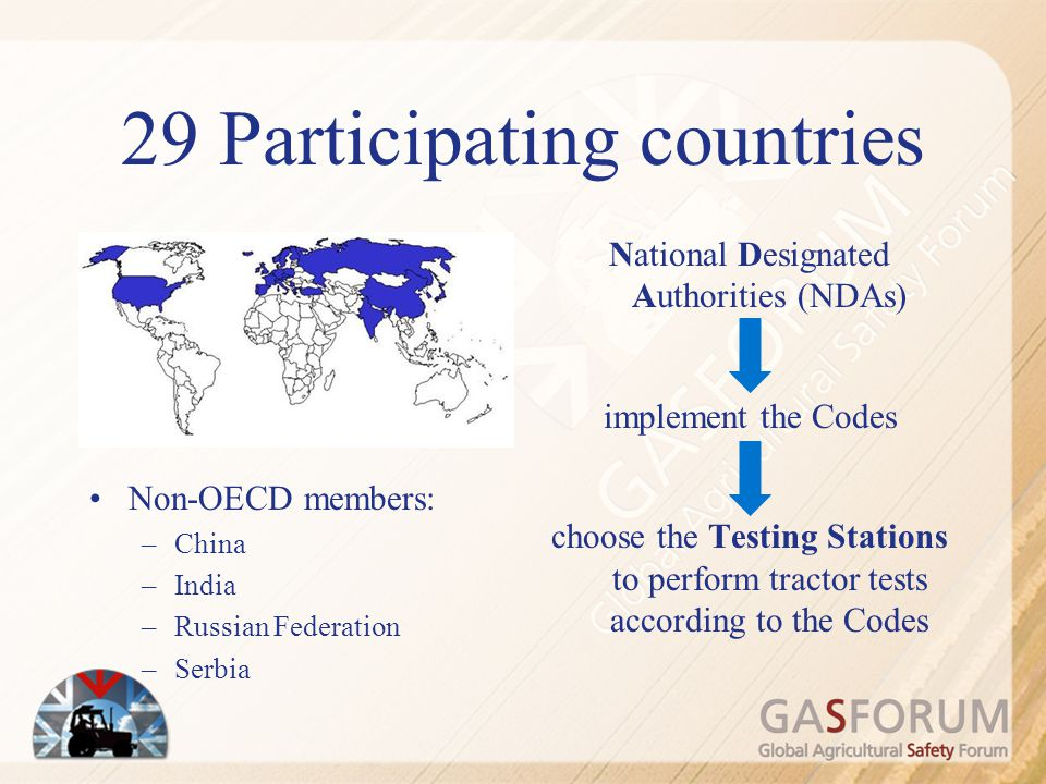 29 Participating countries