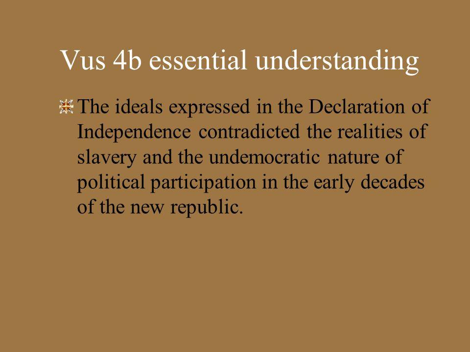 Vus 4b essential understanding