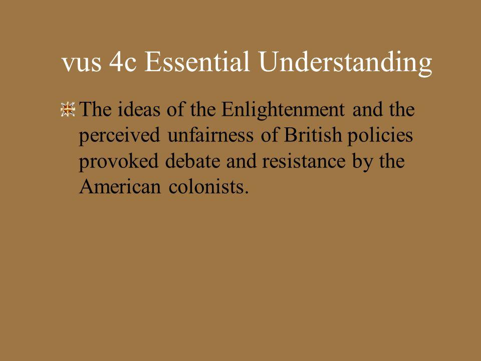 vus 4c Essential Understanding