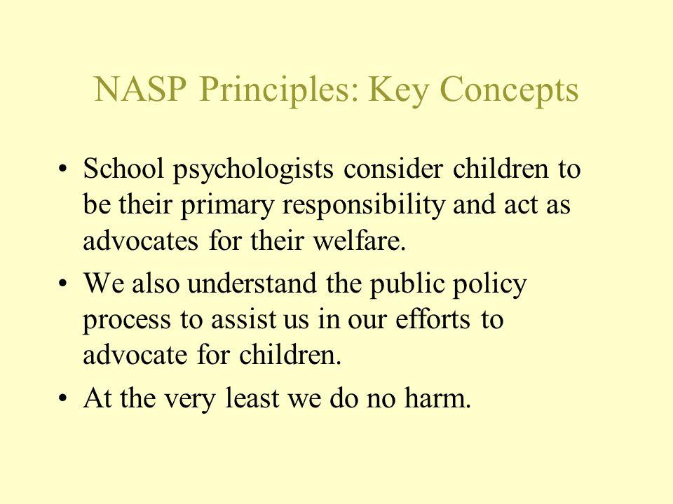 NASP Principles: Key Concepts