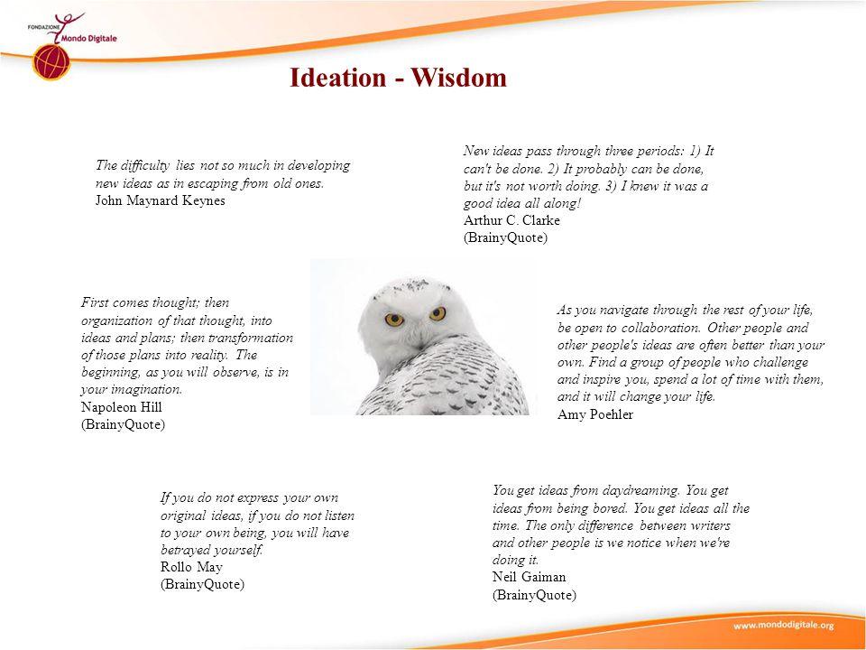 Ideation - Wisdom