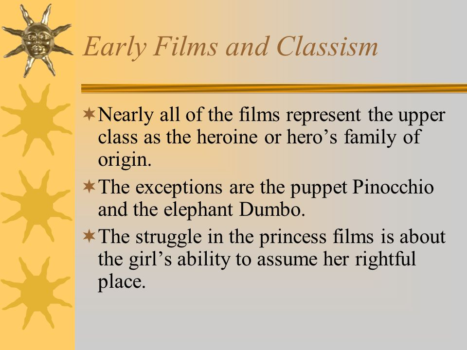 Early Films and Classism