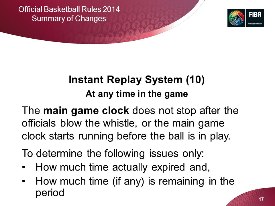Instant Replay System (10)