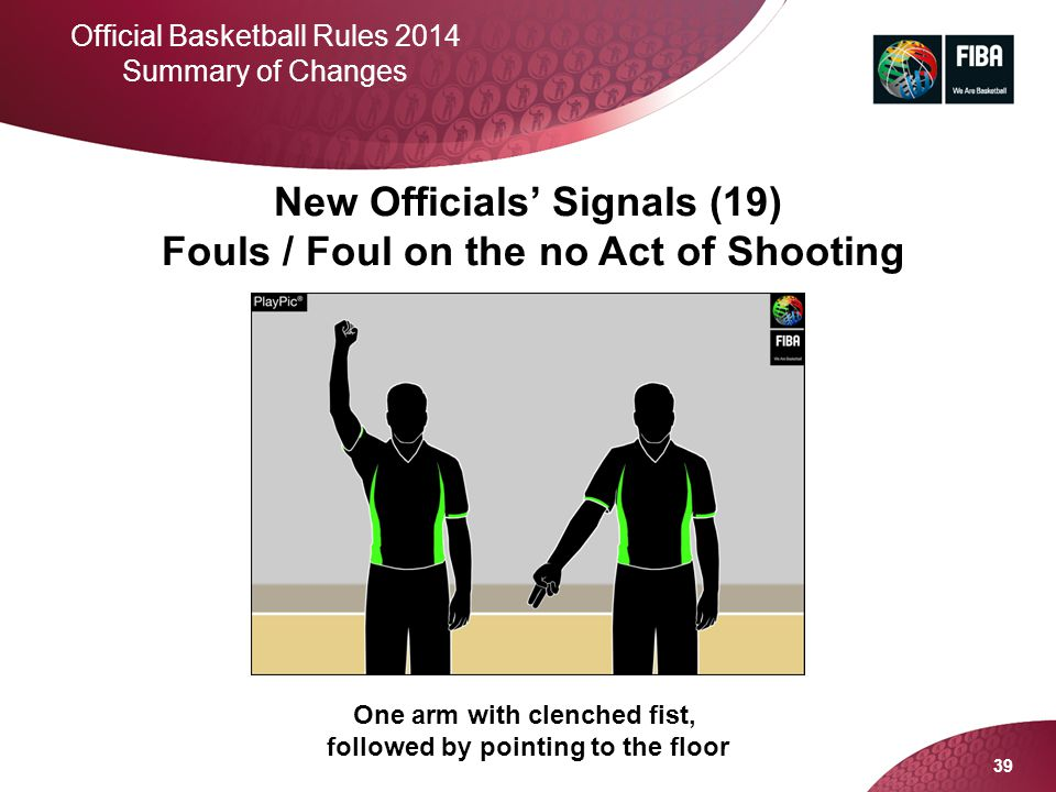 Fouls / Foul on the no Act of Shooting
