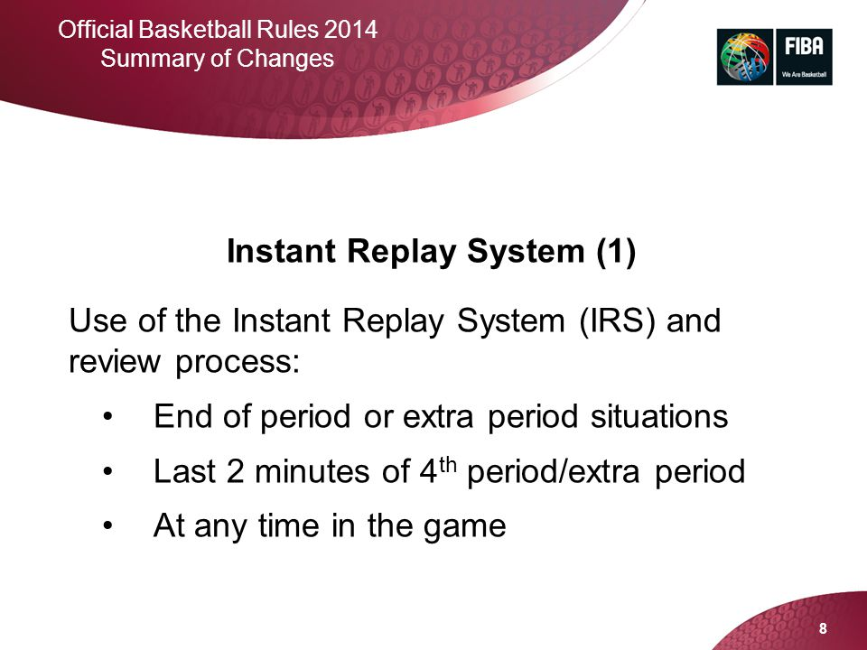 Instant Replay System (1)