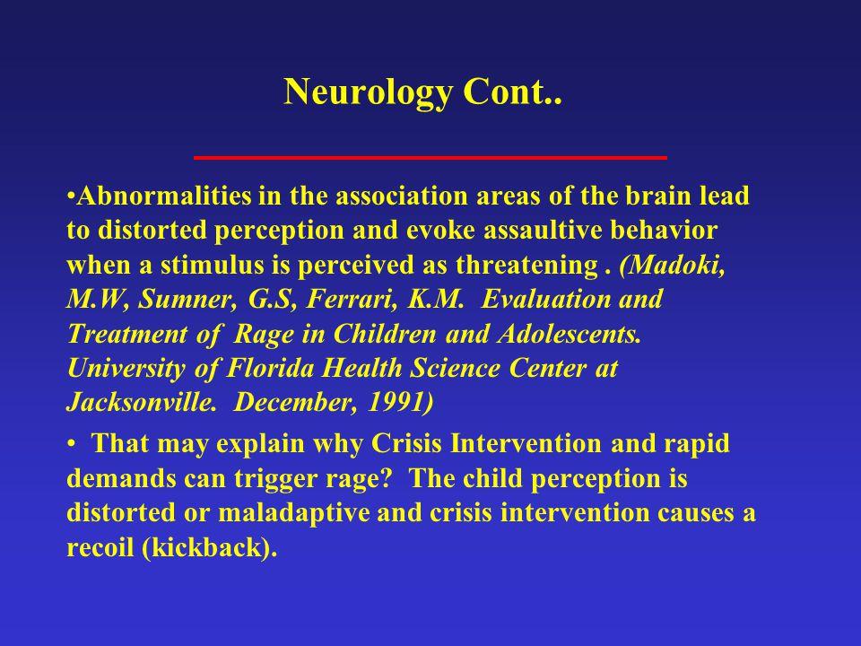 Neurology Cont..