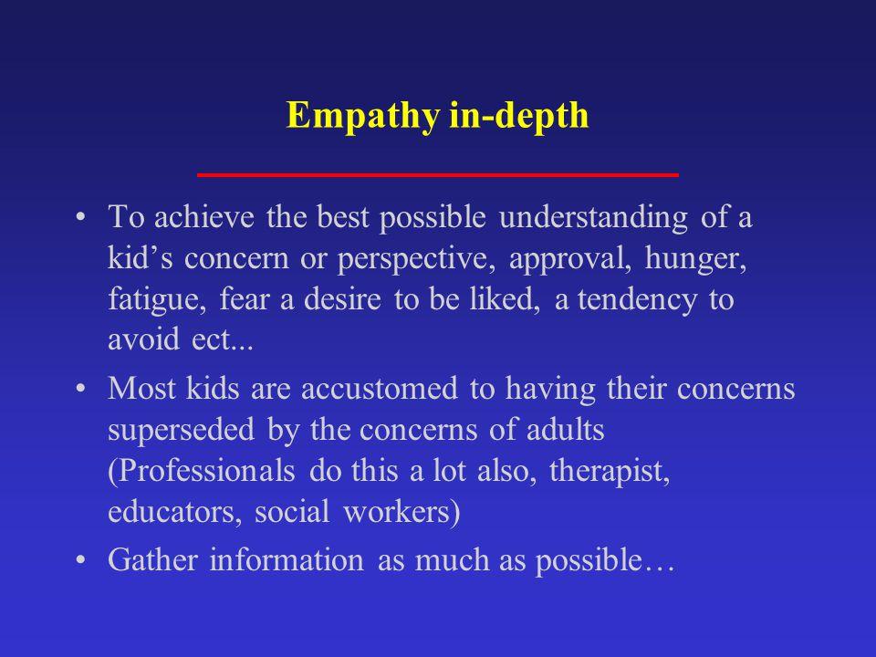 Empathy in-depth