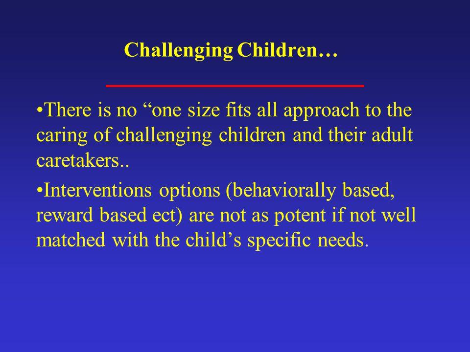 Challenging Children…