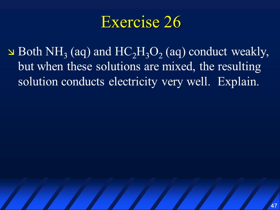 Exercise 26