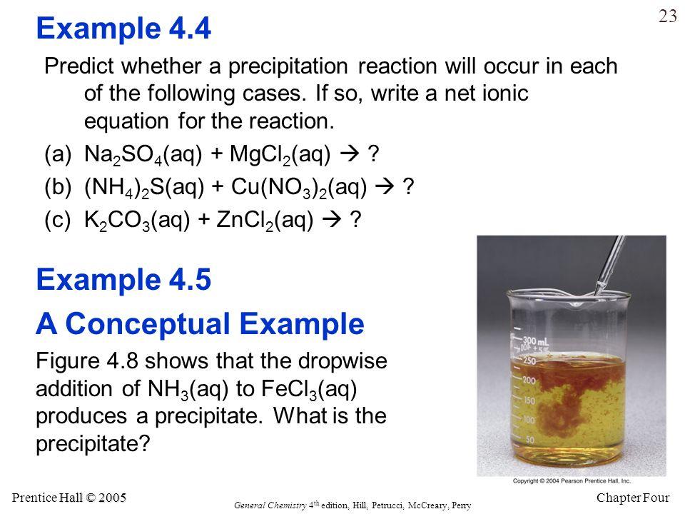 Example 4.4 Example 4.5 A Conceptual Example