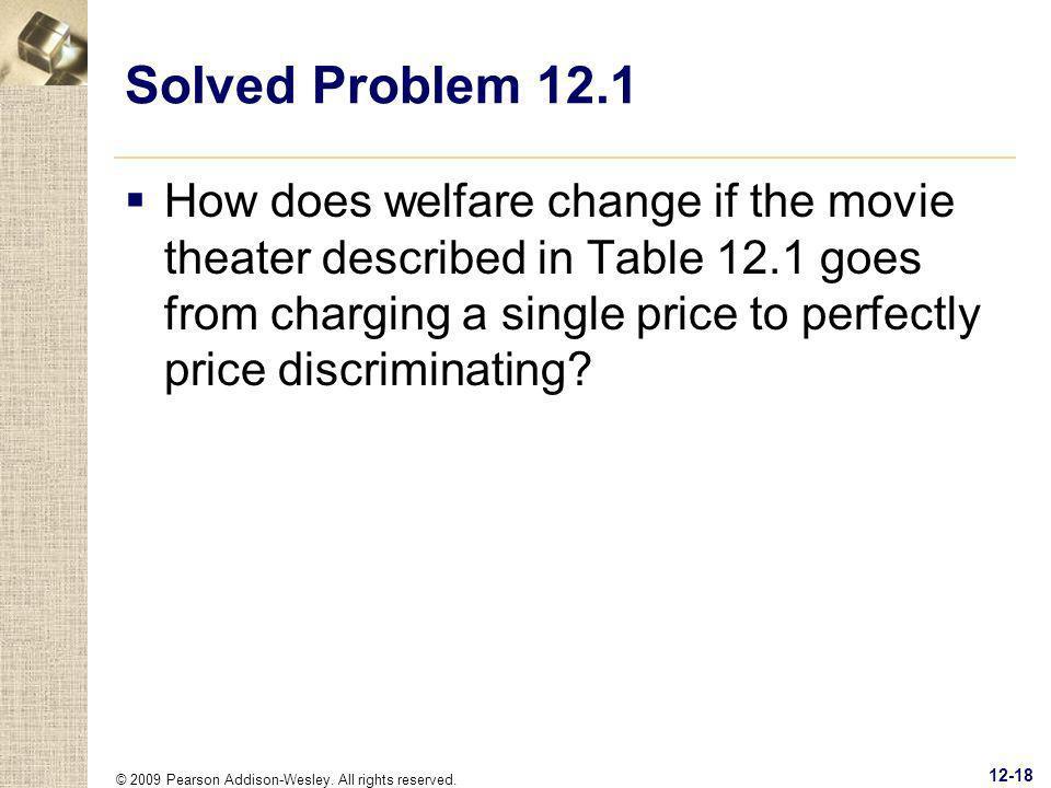 Solved Problem 12.1