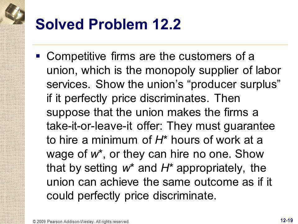 Solved Problem 12.2