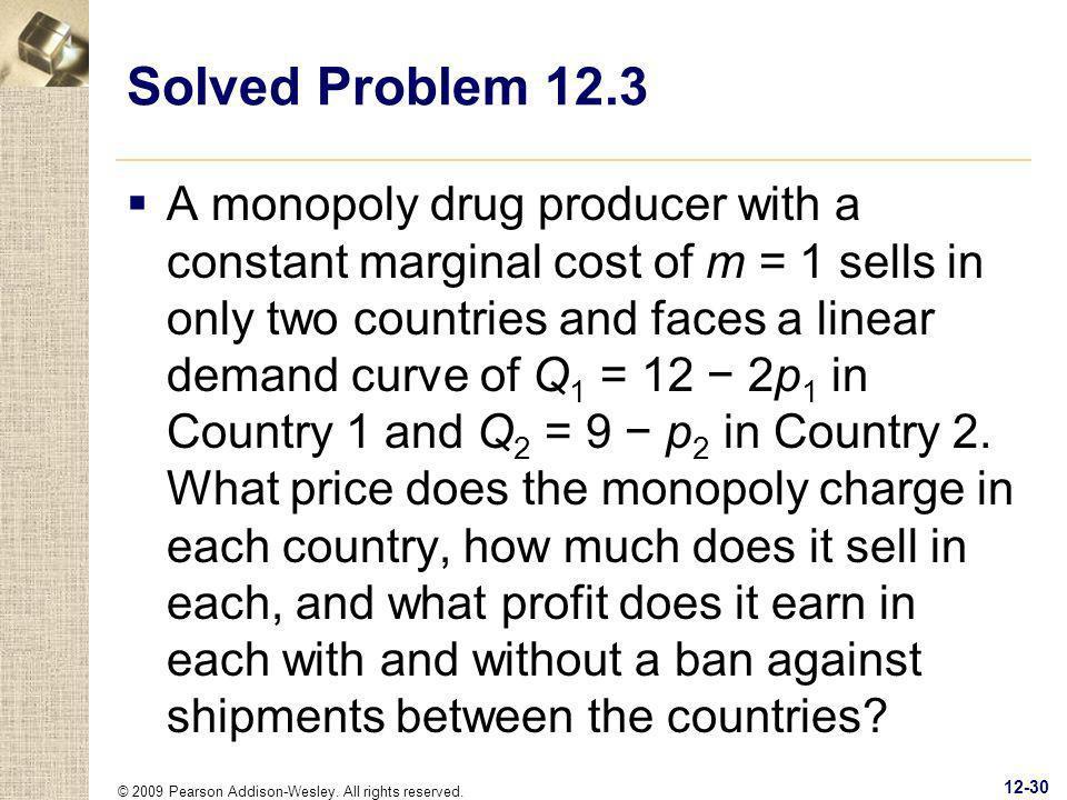 Solved Problem 12.3
