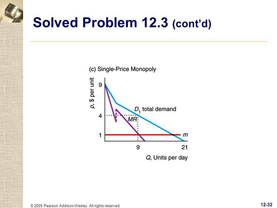 Solved Problem 12.3 (cont'd)