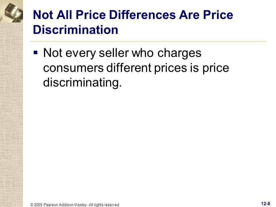 Not All Price Differences Are Price Discrimination