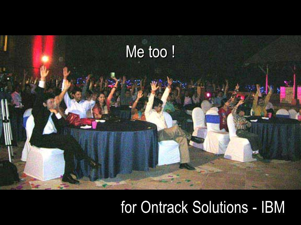 for Ontrack Solutions - IBM