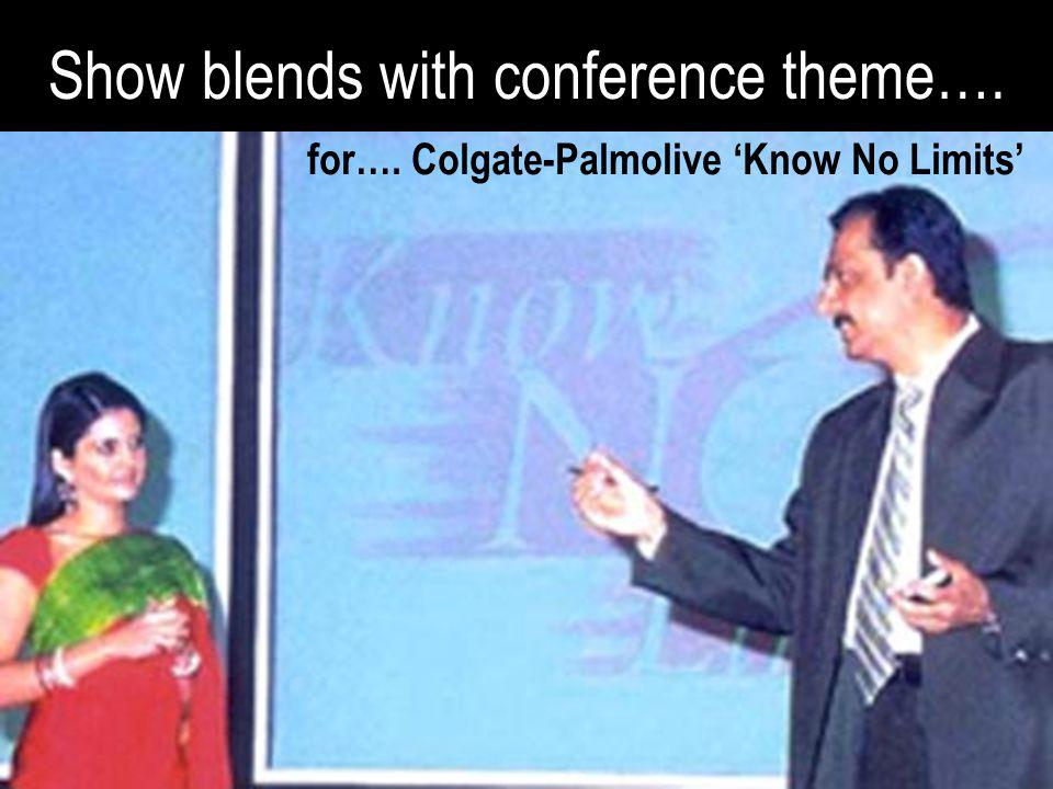 for…. Colgate-Palmolive 'Know No Limits'