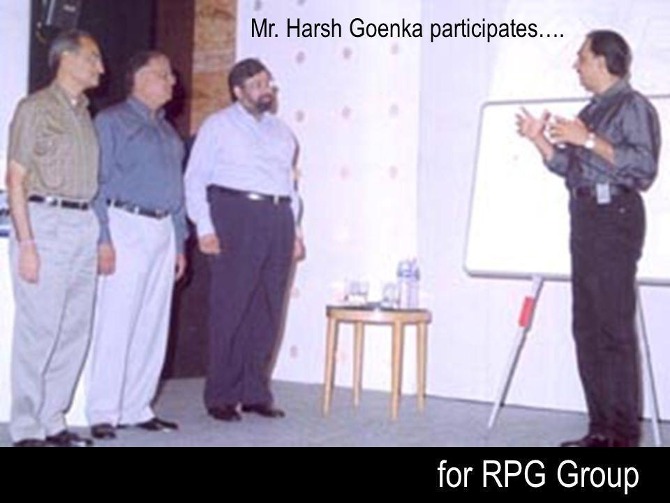 Mr. Harsh Goenka participates….