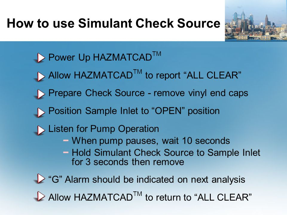 How to use Simulant Check Source
