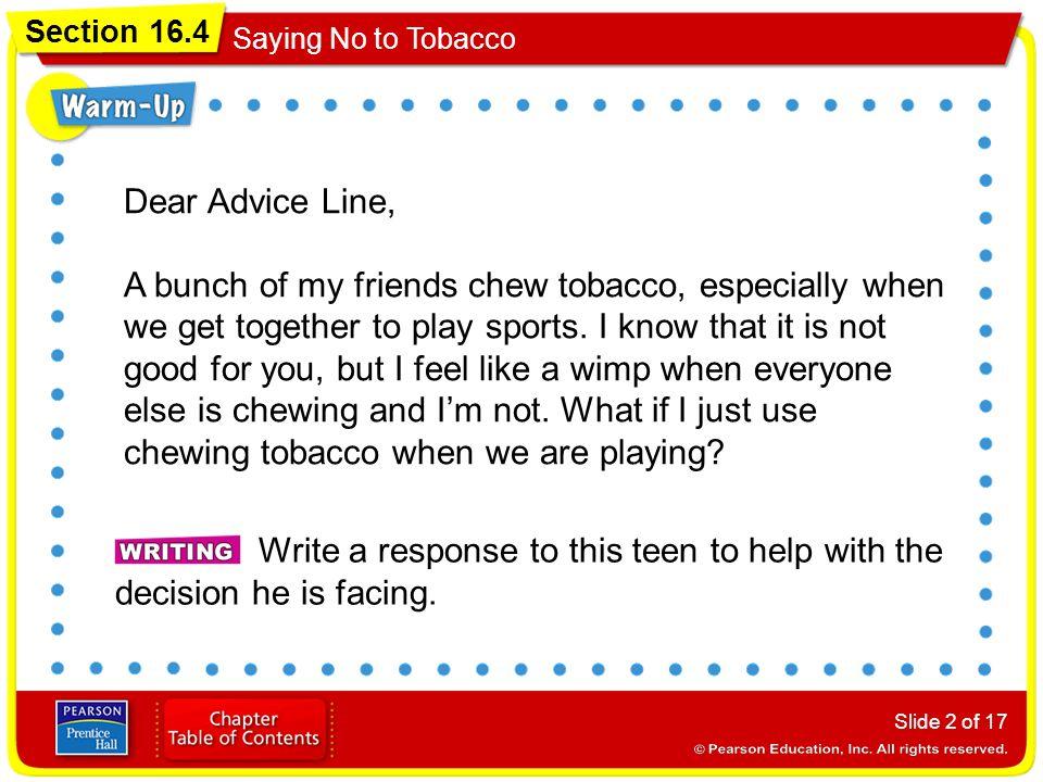 Dear Advice Line,