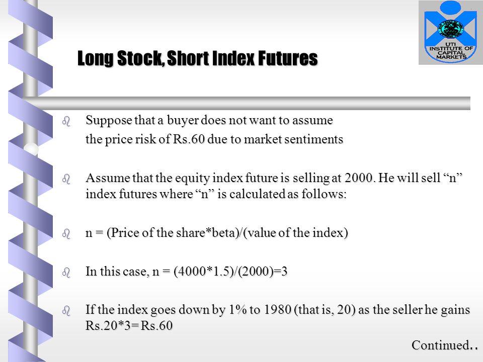 Long Stock, Short Index Futures