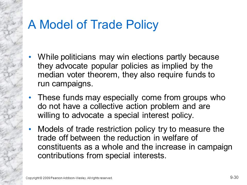 A Model of Trade Policy