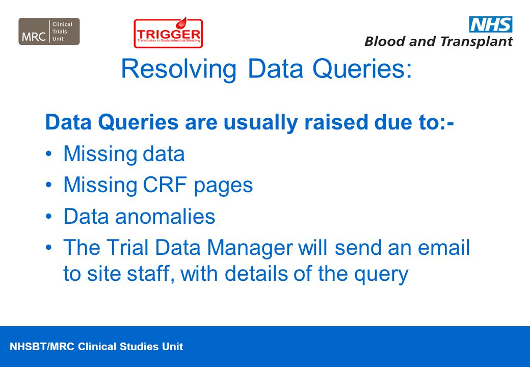 Resolving Data Queries:
