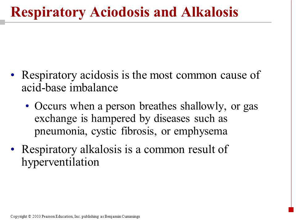 Respiratory Aciodosis and Alkalosis